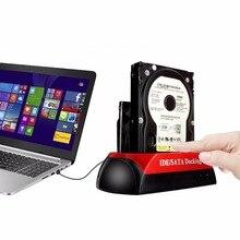 """Двойной 2.5 """"/3.5"""" IDE SATA HDD жесткий диск держатель Подставки док-станция"""