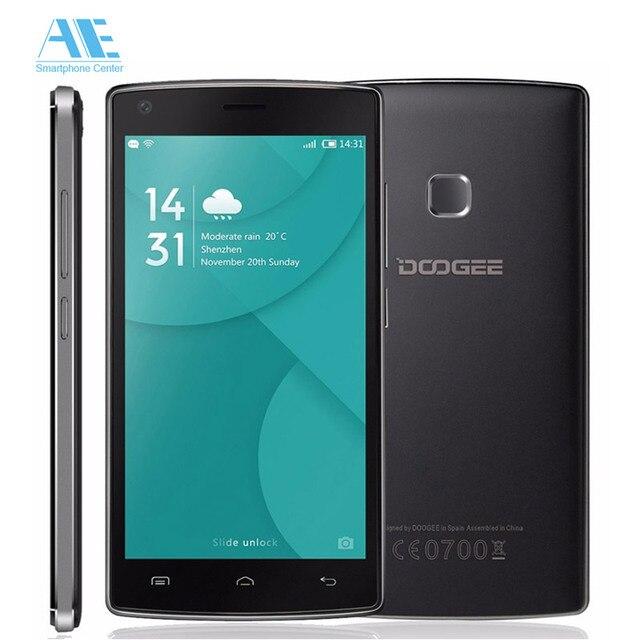 Original Doogee X5 MAX Pro Смартфон 5.0 Дюймов Android 6.0 MTK6737 Quad Core Мобильный Телефон 2 ГБ RAM 16 ГБ ROM 4000 мАч 4 Г Сотовый телефон