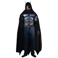 Batman Cosplay Costume For Man Adult Justice League Cosplay 3D Muscle Superhero Outfit Full Set Men