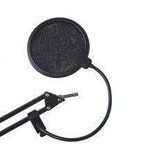 YALI Micrófono Viento Máscara Screen Pop Filtro Shield Flexible Cubierta BOP Micrófono Micrófono de Condensador Profesional para su Difusión Registro