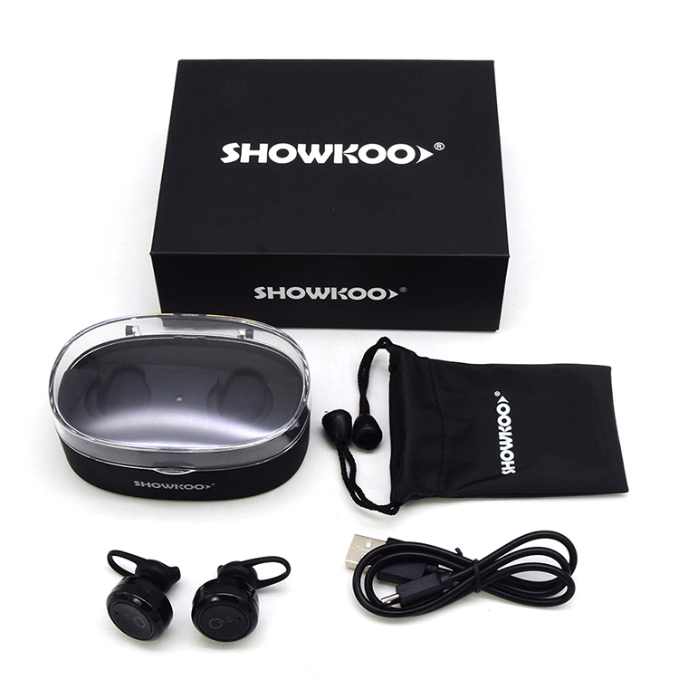 For Blackberry SHOWKOO Waterproof bluetooth headsets sporting headphone For Iphone X 8plus