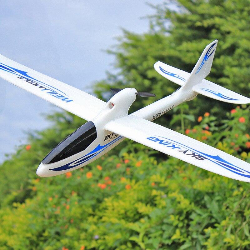 F959 Ciel Roi 3 Canal RC Drone Avion Push-Vitesse Planeur à Voilure Fixe Avion Télécommande Avion