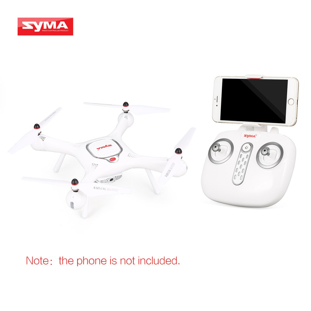 Syma X25 PRO 2.4G GPS FPV RC Drone Quadcopter 720P HD Wifi Adjustable Camera Altitude Hold RC Helicopter Model Toy Kids Gifts image