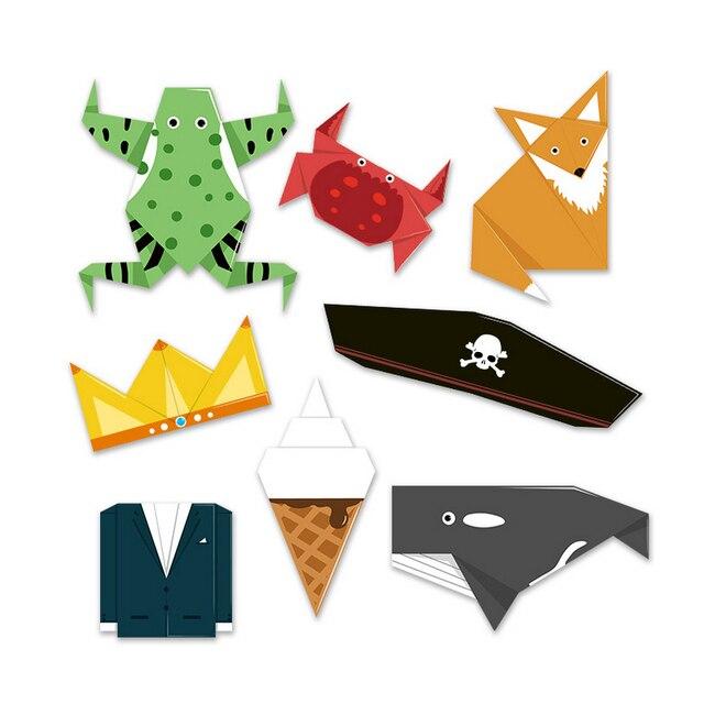N014 2017 Freeshipng New Hot Toy Fun life origami children DIY handmade creative origami kindergarten early education benefits