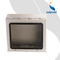 Precio 2014 nuevo gris SP AT 605019 CE aprobado ABS Caja impermeable carcasas impermeables caja de conexiones