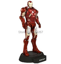 Hardcover Print Magazine The Avengers Iron Man Red Mark 7 Assembled 3D Paper Model Toy DIY