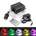16 Вт RGBW LED волоконно-оптический свет звезда потолочные светильники 200 шт. 0 75 мм оптическое волокно освещение + RF 28key дистанционный двигатель
