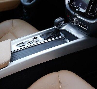 ABS Matte Interior Gear Shift Box Panel Cover Trim 2pcs For Volvo XC60 2018-2019ABS Matte Interior Gear Shift Box Panel Cover Trim 2pcs For Volvo XC60 2018-2019