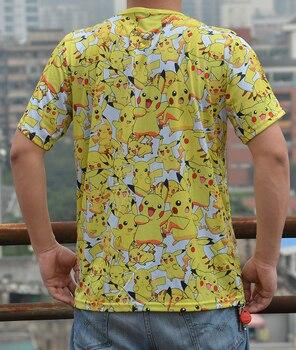 Аниме футболка с пикачу Покемоны 1