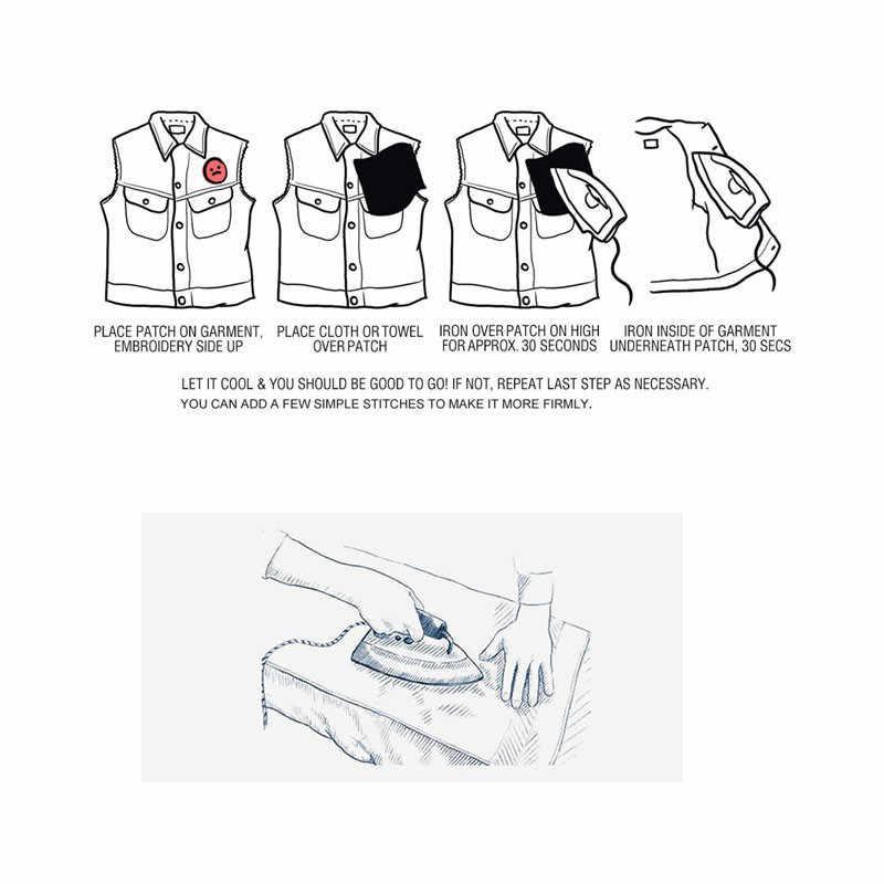 Pulaqi Đá Mát Xi Bộ Trò Chơi Thẻ Sắt Trên Miếng Dán Cho Quần Áo Appliques Trên Ba Lô Giày Trang Trí Thêu Decal F