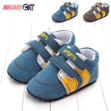 New Baby Shoes Breathable Canvas 1-3 Years Old Boys 4 Color Comfortable Girls Sneakers Kids Toddler