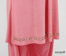 Ice silk saree , sari Hand-beaded Pakistani clothing ,2 pieces traditional indian clothing