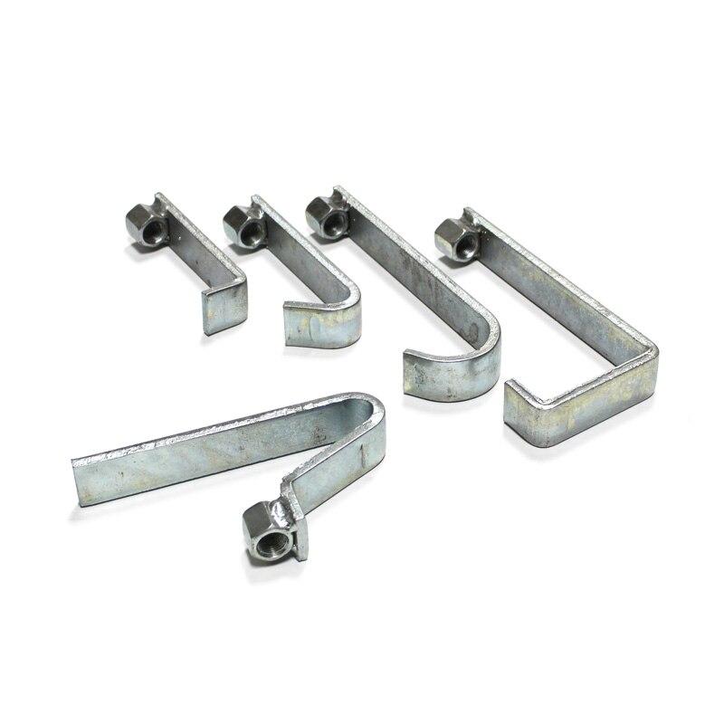 5 Pieces Slide Hammer Dent Puller Hooks Auto Truck Body Fender Repair Kit