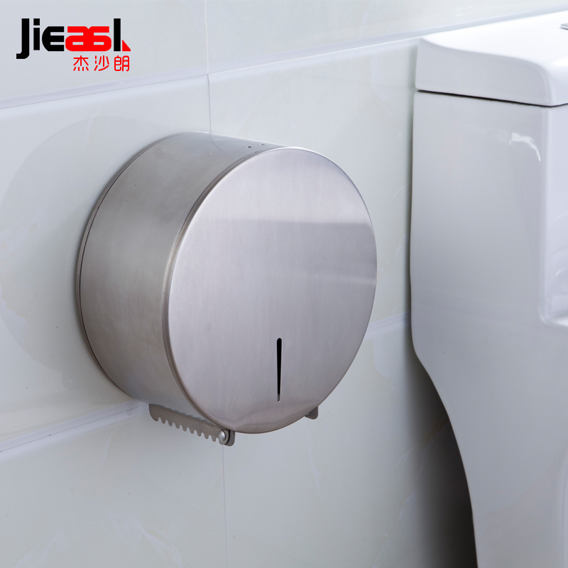цены 304 Stainless Steel Paper Holder Roll Tissue Holder Hotel works Toilet Roll Paper Tissue Holder Box Drawing Design
