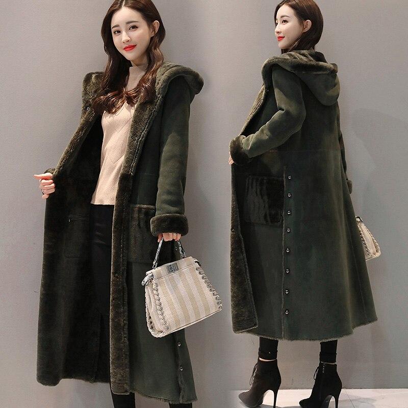 1 D'hiver Mode Long L Manteaux Femme Chaud 2 Femmes Capuchon Fourrure Kk2620 2018 À Avec Survêtement Manteau Parka 0wAxBa0