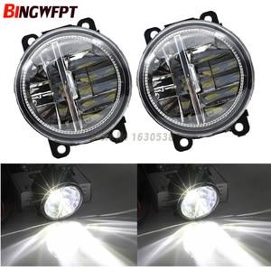 Image 2 - كماليات سيارة خارجية H11 مصابيح ضباب LED المصد الأمامي مساعدة تمرير أضواء لرينو كابتور 2013 2017