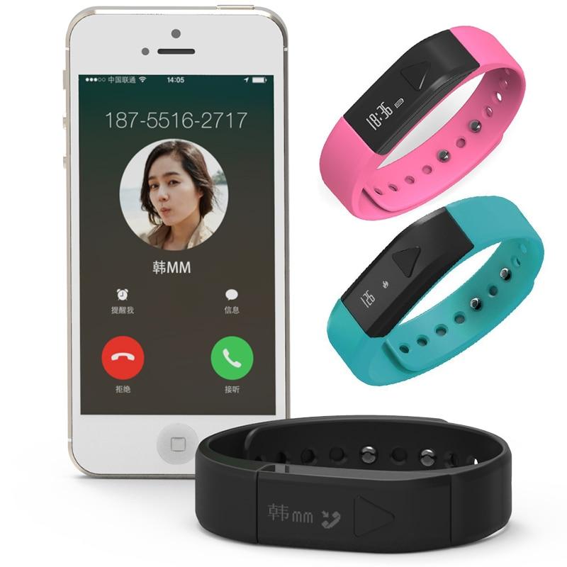 I5 Fitness Activity Tracker Wristband Sleep Monitor Bracelet Sports Passometer font b Smartwatch b font Wearable