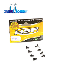 цены 8PCS Round Head Screw M3*6 8P 18091 For Unlimited Climbing Car HSP 94180 136100  1/10 4WD 4X4 Off-road Rock Crawler Pangolin RC