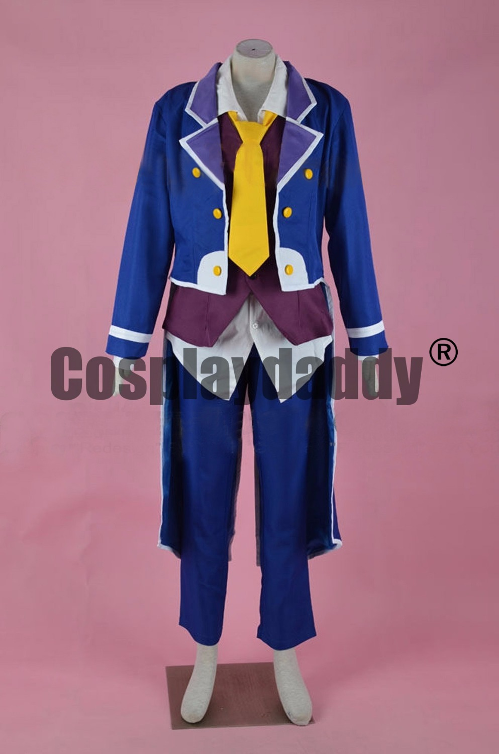 No Game No Life: Zero Imanity Sora OVA Cover Uniform Outfit Cosplay Costume F006