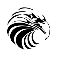 Car Sticker Motorcycle Eagle Animal Vinyl Car Packaging Accessories Product Decal Personality 7 6cm 12 1cm heavy metal sticker vinyl decal electric bass guitar rock personality car sticker accessories black