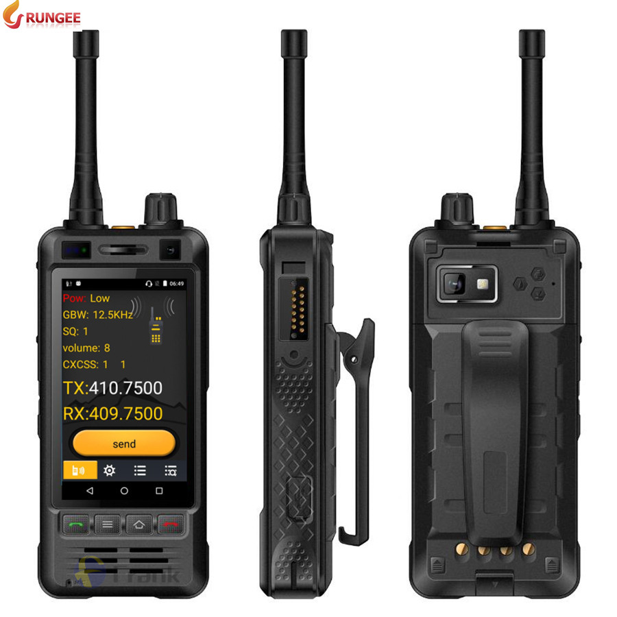 Rungee W5 Shockproof Phone 8gb 1gb GSM/WCDMA/LTE 5MP New Walkie-Talkie Android IP67 Original