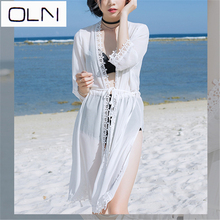Vestidos Korean dress OLN New Tunic Beach  Plus Size Bohemian Style Sexy Women Summer Dresses new arrival summer