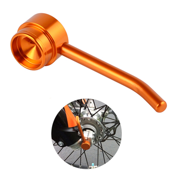 NICECNC 26mm Front Axle Puller Tool for KTM EXC SX SXF XC XCF EXCF EXCW XCFW XCW SX-F 125 200 250 300 350 400 450 500 525 530 front fork guard bolt screw for ktm sx sxf exc excf xc xcf xcw xcfw 65 125 150 250 350 450 525 530 2000 2017 2018 2019 freeride