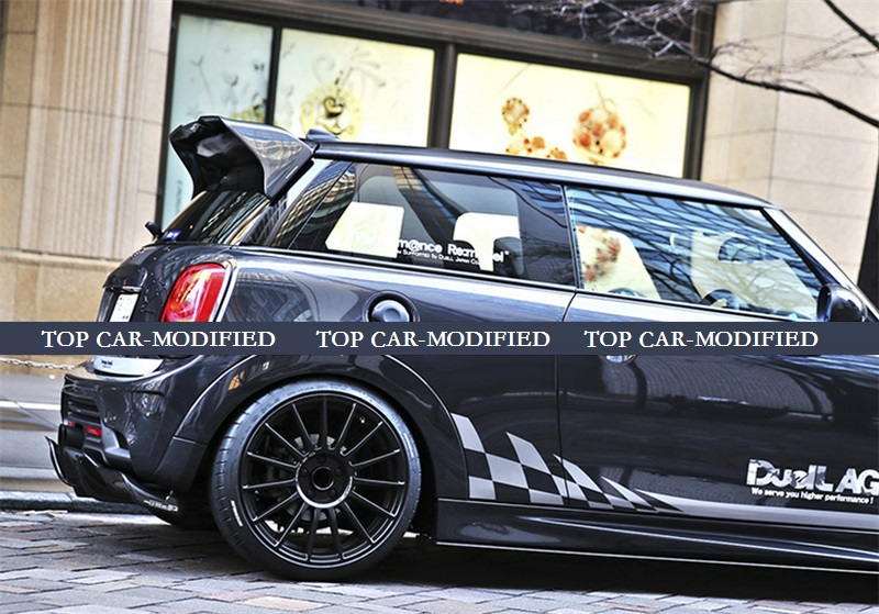 Free Shipping Carbon Fiber Roof Spoiler For Mini F56 Cooper S Duell