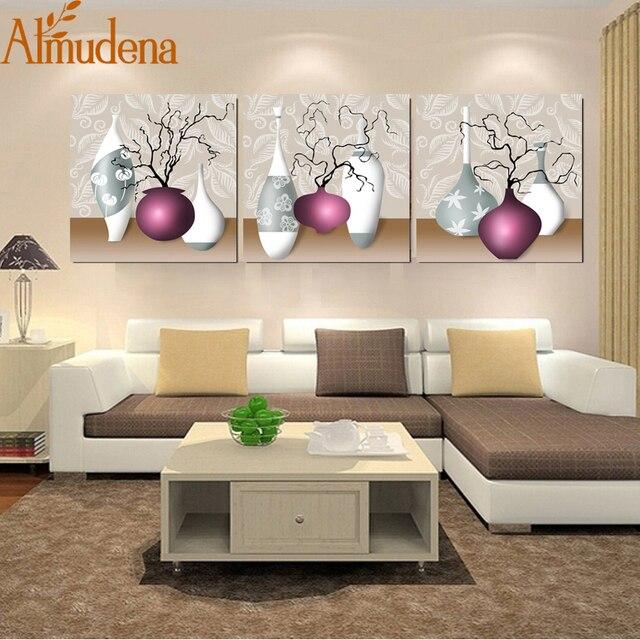 Bekend ALMUDENA Unframed Canvas Prints Keuken Pictures Modulaire Bloem @QG75