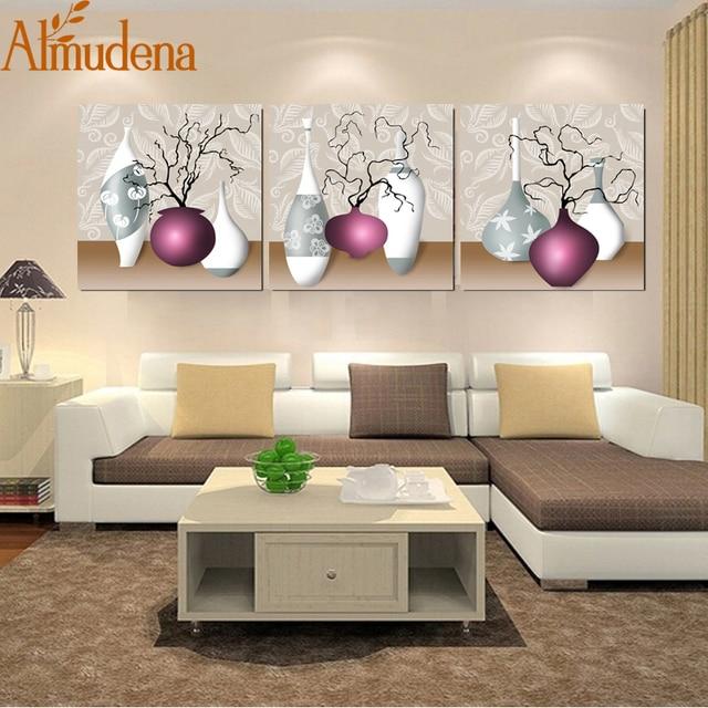 Gemälde Wohnzimmer, almudena ungerahmt leinwand küche bilder modulare blume wandkunst, Design ideen