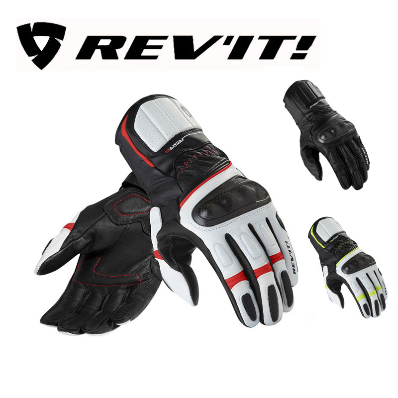 Winter leather Motorcycle REV'IT! RSR2 long gloves moto Revit REVIT RSR 2 motorbike mittens glove for motorcyclist protection rsr 190 page 2