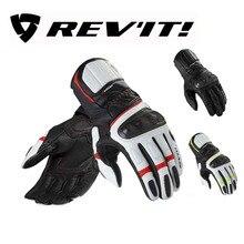Inverno de couro Da Motocicleta REV'IT! rsr2 luvas longas luvas luva para motociclista moto revit revit rsr 2 moto proteção
