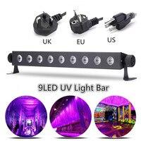 LED Stage Purple Lighting Effect Wall UV Lamp Night Light For DJ Disco KTV Bar Christmas