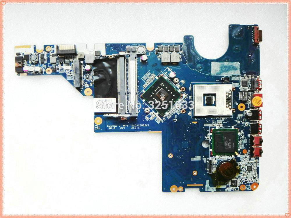 HP 665346-001 pavilion DV6 series DV6-6B DV6-6C Intel motherboard Test OK