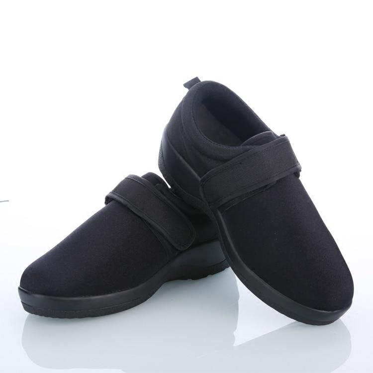 Безплатна доставка Нови мъже / жени Диабетни обувки Случайни здравни обувки Диетични грижи Поддръжка на крака Медицински ортопедични ортопеди