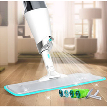 130205/Spray spray mops/Sponge handle/360 degrees can be rotated/Household flat mops/Hand wash lazy mop/