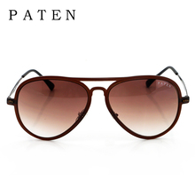Venta Caliente Retro Hombres Adultos Espejo de La Vendimia Gafas de Sol 2016 Famosa Gradiente Diseñador de la marca Logo Oem Gafas De Sol Hombre Nuevos Tonos