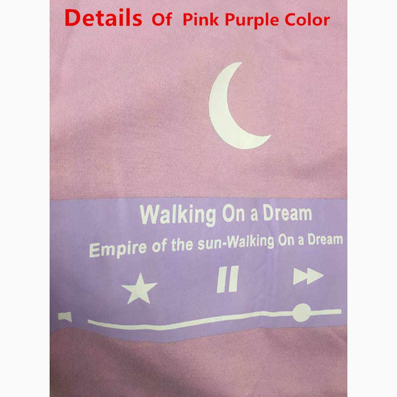 09ee579c ... Cute Moon Friends T shirt IG Hot Korean Ulzzang Style Pink Top for Girls  Women Aesthetic ...