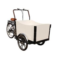 Fabryka cena sprzedaż cargo currier trójkołowy rower elektryczny rower transportowy rower spożywczy w chinach