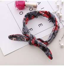 DIY Newborn/Kids/Children Bow Knot Floral Headband Hairband Rabbit Ear/Arrow/Print/Fruit Hair Band Hair Accessories KT053(China)
