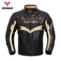 New Arrival DUHAN Genuine Off-Road Racing jacket Winter Warm Motocross Motorcycle jaqueta Moto PU Leather Motobiker chaqueta