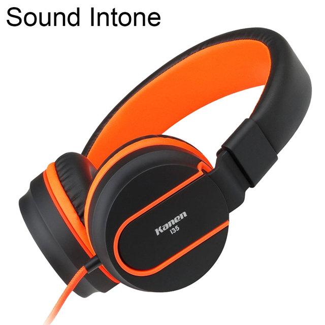 Sound intone i35 ajustable auricular plegable fone de ouvido auriculares auriculares con micrófono para el teléfono móvil, ordenador