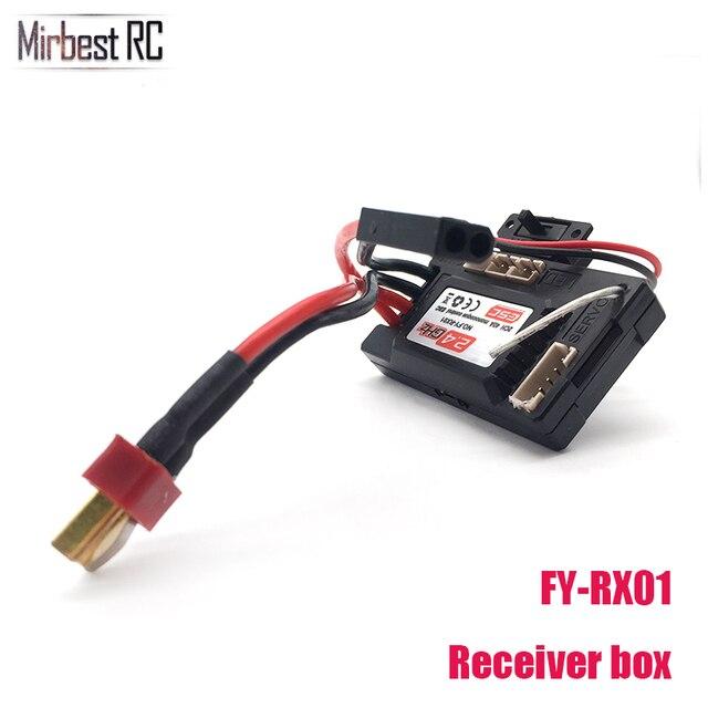 FEIYUE FY-RX01 2CH 40A CES caja de receptor para 1/12 FY-01 FY-02 FY-03 RC Rock Crawler Coche