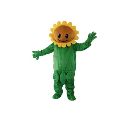 Plants vs. Zombies PVZ cartoon Mascot Costume Fancy Dress Animal mascot costume