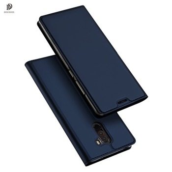 DUX DUCIS leather Case for Xiaomi Pocophone F1  Luxury Flip leather Case for xiaomi poco f1 6.18  Luxury Flip leather Case Funda