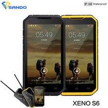 Original S6 Plus Smartphone IP68 Waterproof Dustproof Shockproof rugged phone walkie-talkie MTK6582 Quad Core 5.0 inchGPS 3G S8