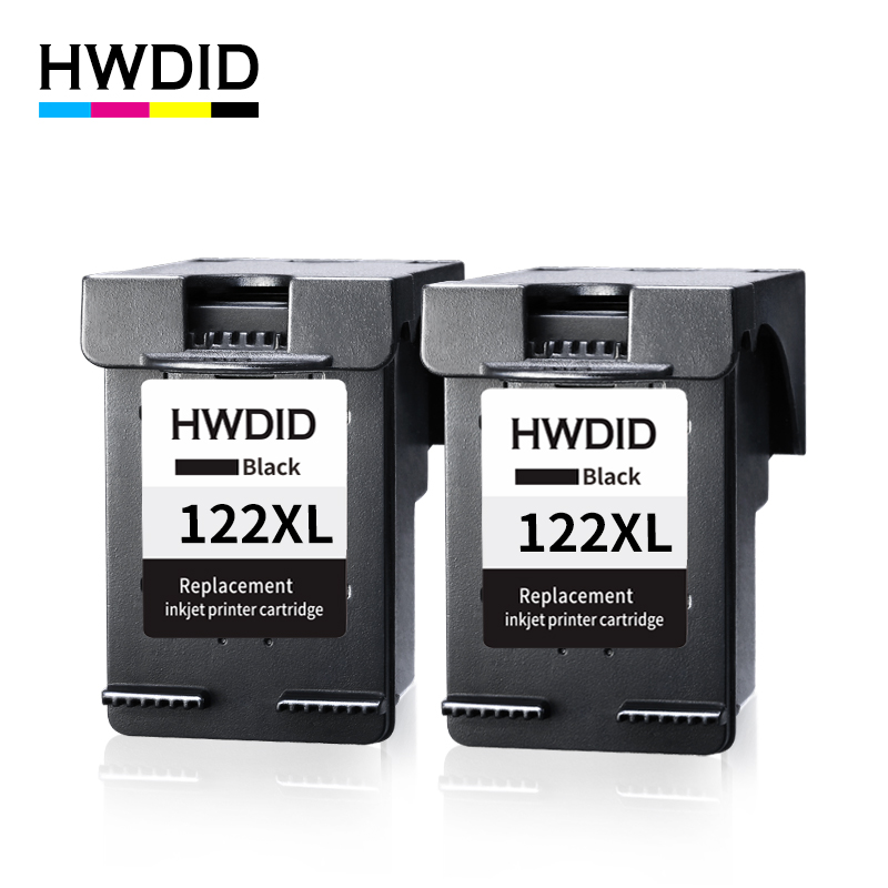 HWDID 122XL Black Refilled Cartridge Replacement for HP 122 XL for Deskjet 1000 1050 1050A 2000 2050 2050A 2540 3000 3050A 3052AHWDID 122XL Black Refilled Cartridge Replacement for HP 122 XL for Deskjet 1000 1050 1050A 2000 2050 2050A 2540 3000 3050A 3052A