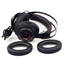 1 Pair Earpad Earphone Foam Ear Pads Cushion Replacement for Kingston HyperX Cloud Revolver S Headphone 1 pair ear pads cushion replacement for monster dna on ear dna pro headphone