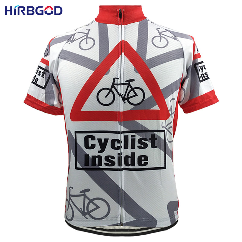 HIRBGOD Inside Unisex Men Short Sleeve Cycling Jersey Bicycle Jersey Funny Maillot Clothing Wear Roupa Ciclismo Cartoon,HI169