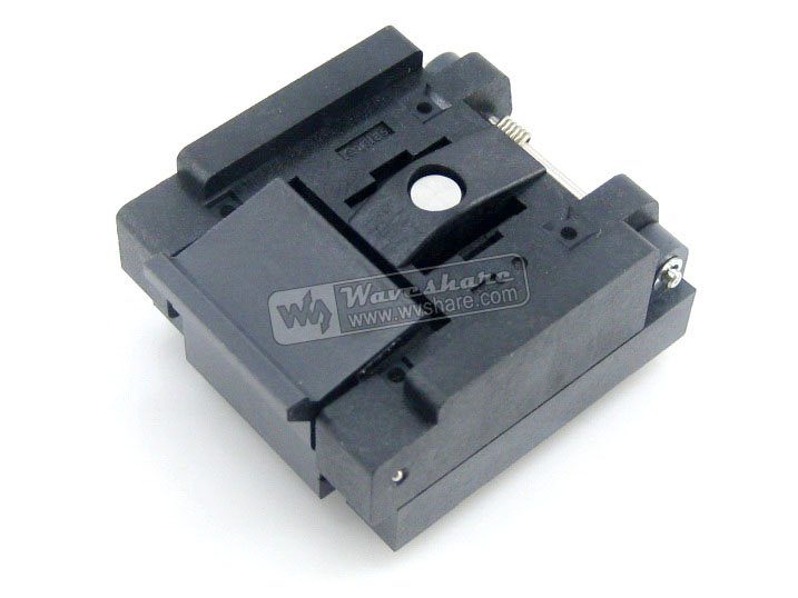 QFN36 MLP36 MLF36 QFN-36B-0.5-01 Enplas QFN 6x6 mm 0.5Pitch IC Test Burn-In Socket